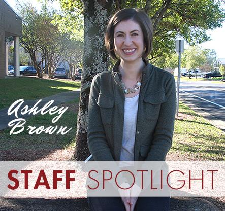 Staff Spotlight: Ashley Brown