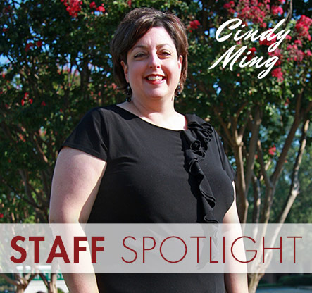 Staff Spotlight: Cindy Ming