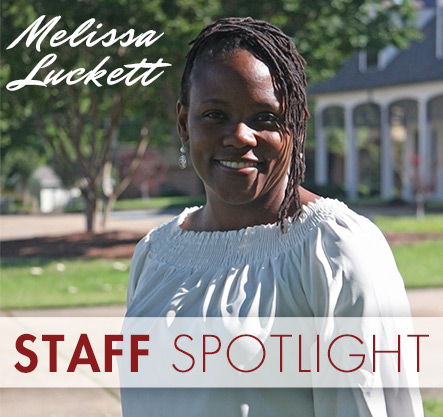Staff Spotlight: Melissa Luckett