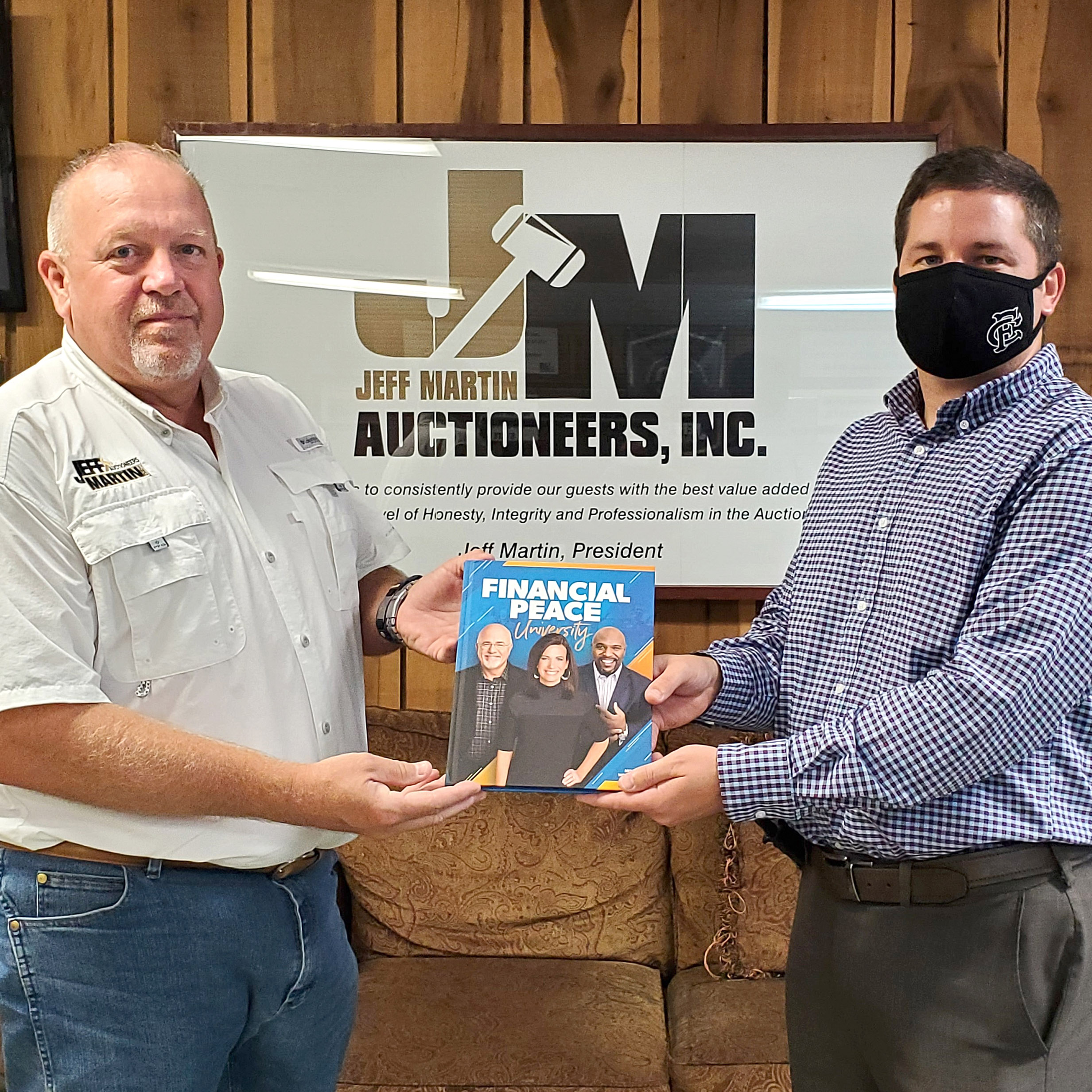FCAHS Receives Financial Tools From Auctioneer
