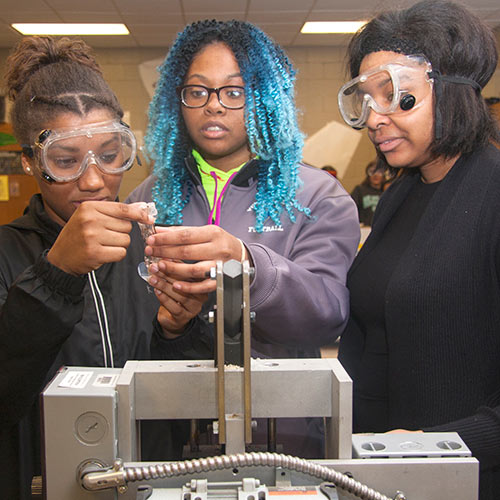 Bringing Chemistry to Life : Polymer Science CTE Pathway Prepares Students for In-Demand Careers