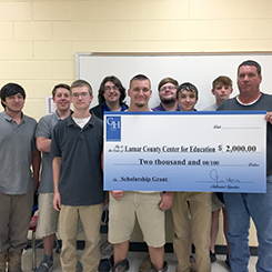 Teacher Receives Gene Hass Foundation Grant