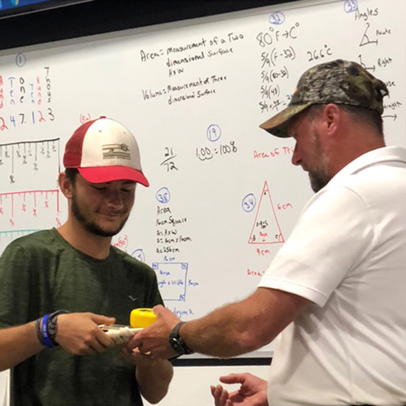 Petal Construction Technology Students Selected for Paid Internship