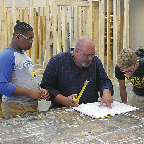 Building for a Cause: Walthall County CTE Constructs House for Community Member