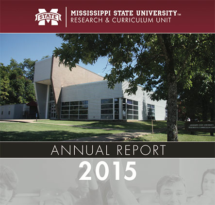 Mississippi State University Research & Curriculum Unit 2015 Annual Report