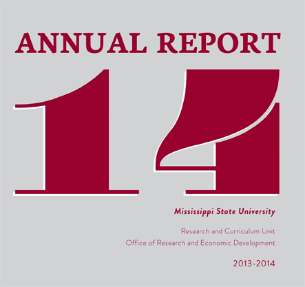 2013-2014 Annual Report (ORED) cover
