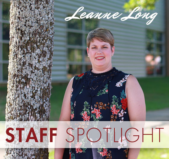 Staff Spotlight: Leanne Long